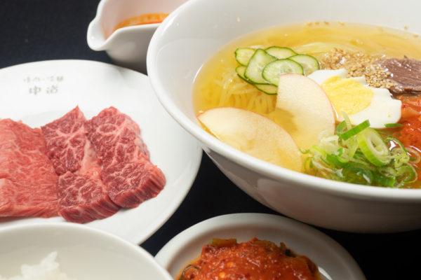 中道 冷麺ランチ